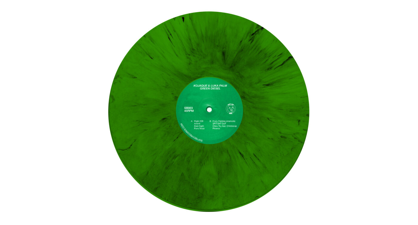 GD RECORD GREEN